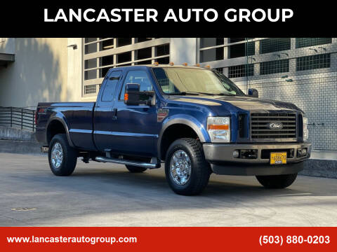 2008 Ford F-350 Super Duty for sale at LANCASTER AUTO GROUP in Portland OR