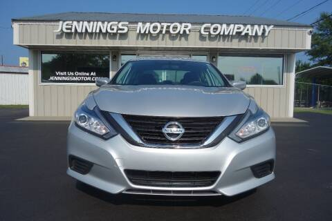 2016 Nissan Altima for sale at Jennings Motor Company in West Columbia SC