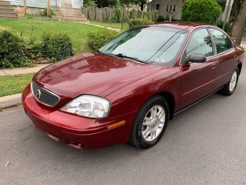 2005 Mercury Sable for sale at Michaels Used Cars Inc. in East Lansdowne PA