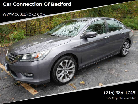 2013 Honda Accord for sale at Car Connection of Bedford in Bedford OH