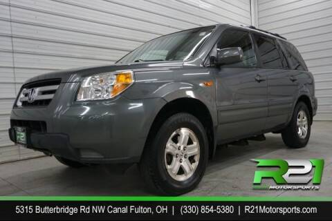 2008 Honda Pilot for sale at Route 21 Auto Sales in Canal Fulton OH