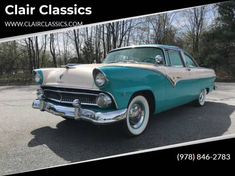 1955 Ford Crown Victoria for sale at Clair Classics in Westford MA