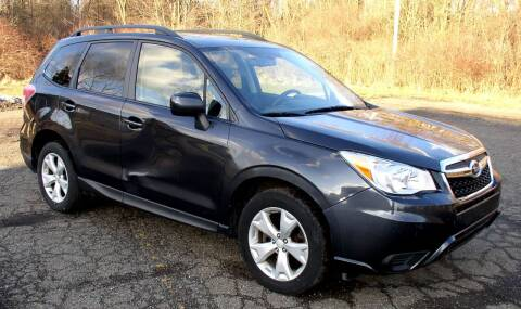 2014 Subaru Forester for sale at Angelo's Auto Sales in Lowellville OH