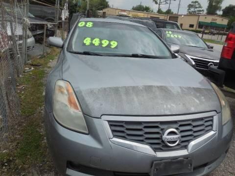 2008 Nissan Altima for sale at SCOTT HARRISON MOTOR CO in Houston TX