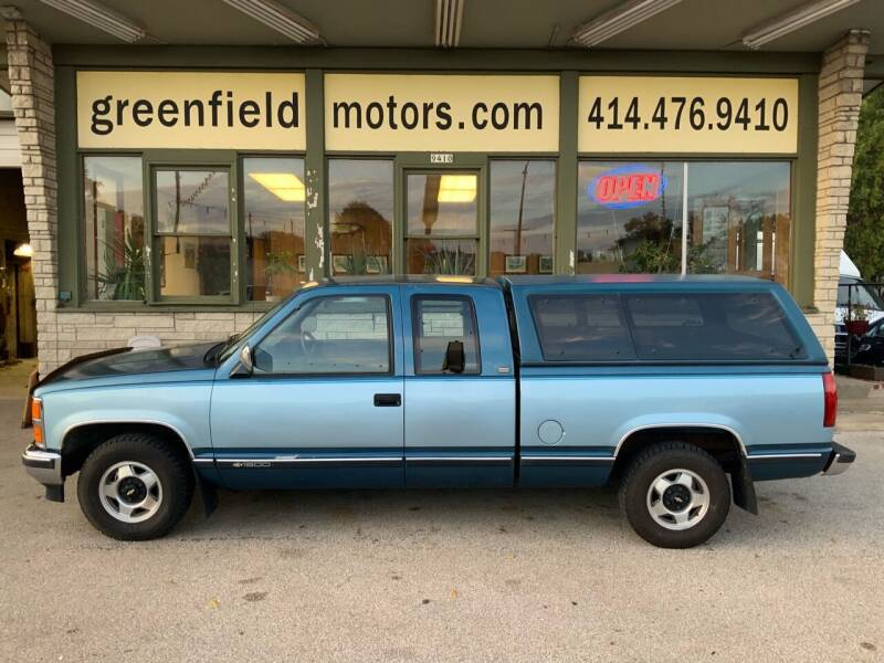 1991 Chevrolet C/K 1500 Series for sale at GREENFIELD MOTORS in Milwaukee WI