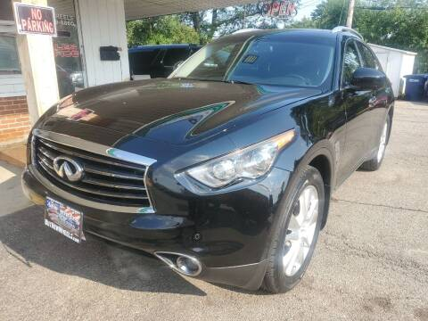 2012 Infiniti FX35 for sale at New Wheels in Glendale Heights IL
