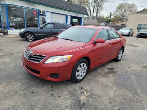 2010 Toyota Camry for sale at MOE MOTORS LLC in South Milwaukee WI
