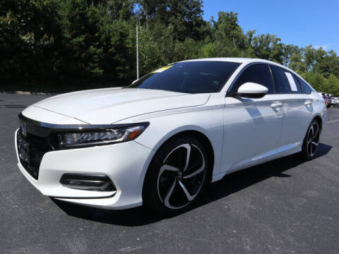 2019 Honda Accord for sale at RUSTY WALLACE KIA OF KNOXVILLE in Knoxville TN