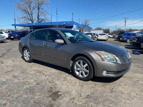 2005 Nissan Maxima for sale at Dave-O Motor Co. in Haltom City TX