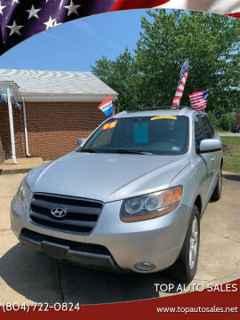 2008 Hyundai Santa Fe for sale at Top Auto Sales in Petersburg VA