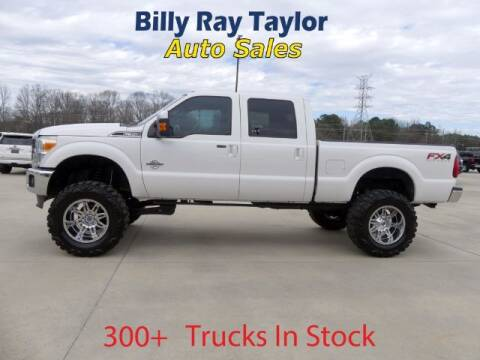 2015 Ford F-350 Super Duty for sale at Billy Ray Taylor Auto Sales in Cullman AL