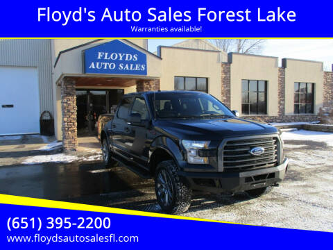2016 Ford F-150 for sale at Floyd's Auto Sales Forest Lake in Forest Lake MN