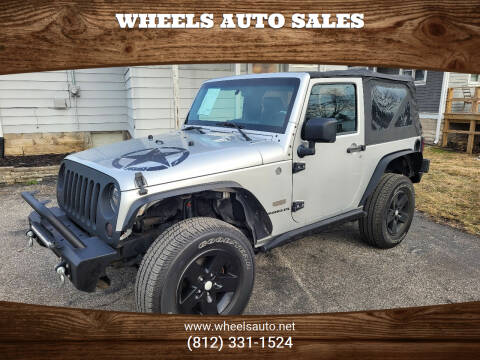2007 Jeep Wrangler for sale at Wheels Auto Sales in Bloomington IN
