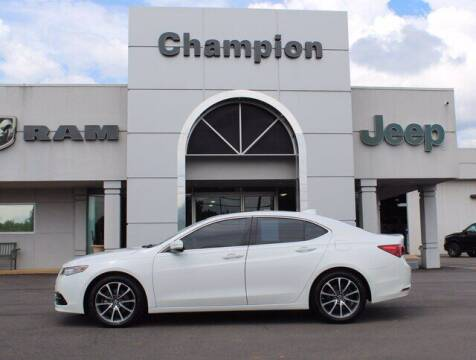 2017 Acura TLX for sale at Champion Chevrolet in Athens AL
