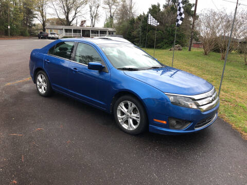 2012 Ford Fusion for sale at Dorsey Auto Sales in Anderson SC