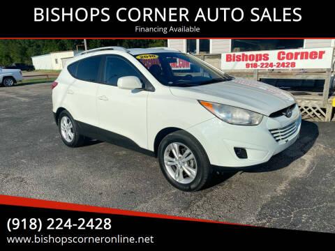 2010 Hyundai Tucson for sale at BISHOPS CORNER AUTO SALES in Sapulpa OK