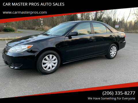 2005 Toyota Camry for sale at CAR MASTER PROS AUTO SALES in Lynnwood WA