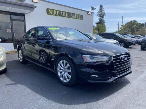 2015 Audi A4 for sale at Mike Auto Sales in West Palm Beach FL