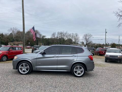2011 BMW X3 for sale at Joye & Company INC, in Augusta GA
