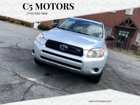 2006 Toyota RAV4 for sale at C5 Motors in Marietta GA