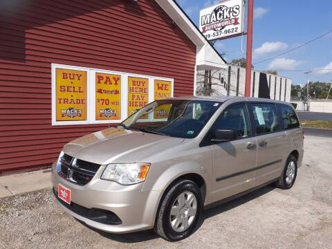 2012 Dodge Grand Caravan for sale at Mack's Autoworld in Toledo OH