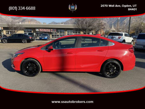 2018 Chevrolet Cruze for sale at S S Auto Brokers in Ogden UT
