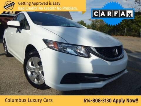 2014 Honda Civic for sale at Columbus Luxury Cars in Columbus OH
