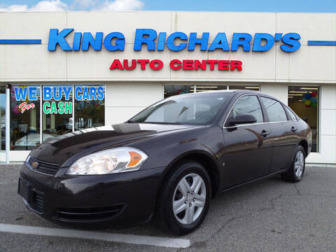 2008 Chevrolet Impala for sale at KING RICHARDS AUTO CENTER in East Providence RI