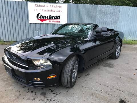 2014 Ford Mustang for sale at Chuckran Auto Parts Inc in Bridgewater MA