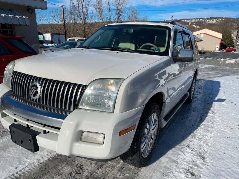 2008 Mercury Mountaineer for sale at JM Auto Sales in Shenandoah PA