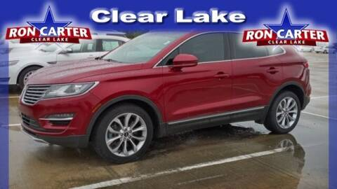 2017 Lincoln MKC for sale at Ron Carter  Clear Lake Used Cars in Houston TX