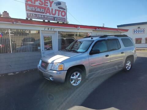 2006 GMC Envoy XL for sale at Apsey Auto in Marshfield WI