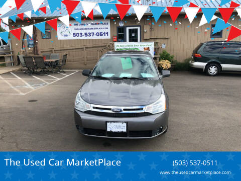 2010 Ford Focus for sale at The Used Car MarketPlace in Newberg OR