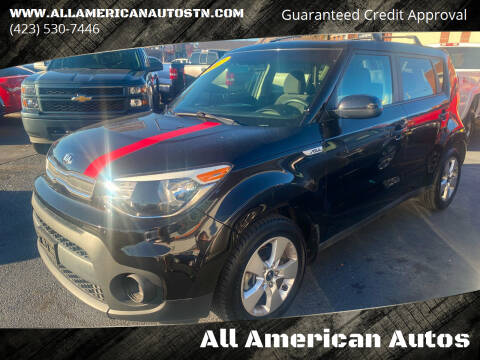 2017 Kia Soul for sale at All American Autos in Kingsport TN