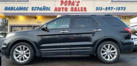 2012 Ford Explorer for sale at Popas Auto Sales in Detroit MI