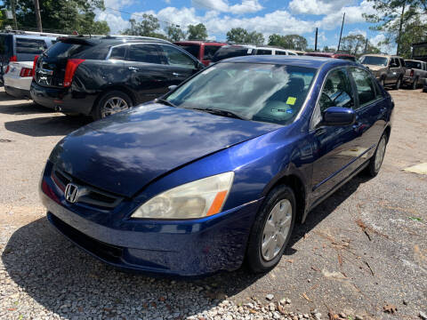 2003 Honda Accord for sale at Triple A Wholesale llc in Eight Mile AL