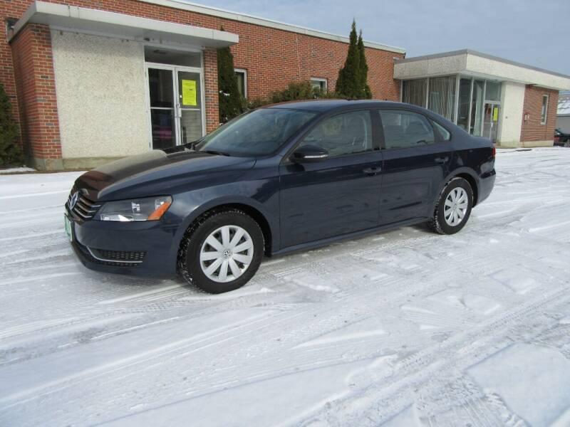2012 Volkswagen Passat for sale at Kar Kraft in Gilford NH