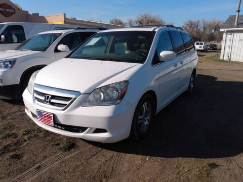 2006 Honda Odyssey for sale at L & J Motors in Mandan ND
