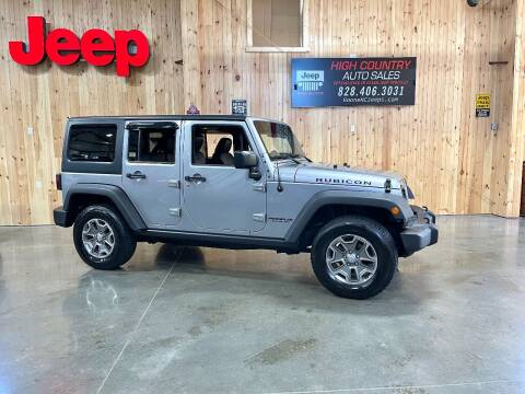 2016 Jeep Wrangler Unlimited for sale at Boone NC Jeeps-High Country Auto Sales in Boone NC
