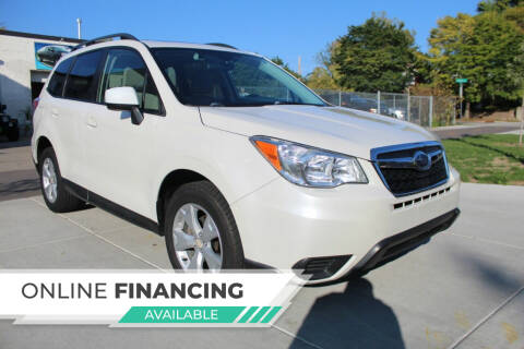 2015 Subaru Forester for sale at K & L Auto Sales in Saint Paul MN