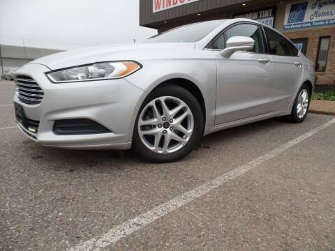 2016 Ford Fusion for sale at Flywheel Motors, llc. in Olive Branch MS
