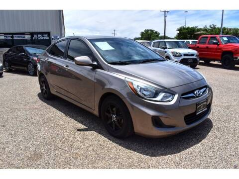 2014 Hyundai Accent for sale at Chaparral Motors in Lubbock TX