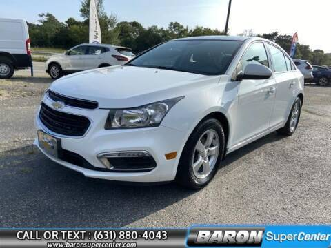 2015 Chevrolet Cruze for sale at Baron Super Center in Patchogue NY