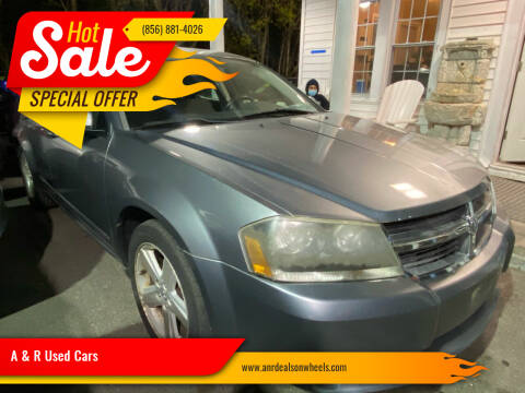 2008 Dodge Avenger for sale at A & R Used Cars in Clayton NJ