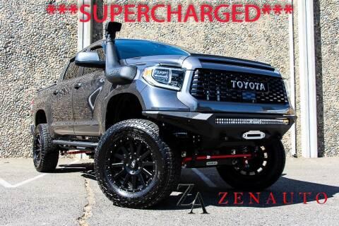 2020 Toyota Tundra for sale at Zen Auto Sales in Sacramento CA