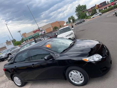 2009 Toyota Corolla for sale at Sanaa Auto Sales LLC in Denver CO