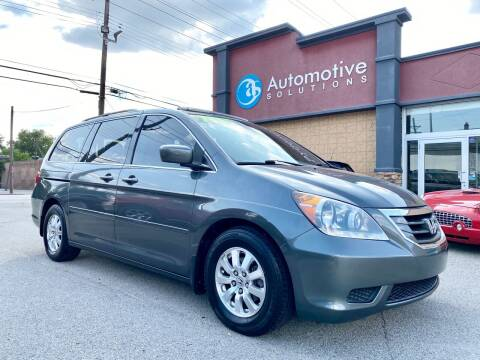 2008 Honda Odyssey for sale at Automotive Solutions in Louisville KY