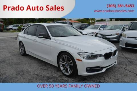 2014 BMW 3 Series for sale at Prado Auto Sales in Miami FL