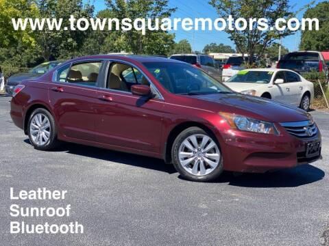 2011 Honda Accord for sale at Town Square Motors in Lawrenceville GA