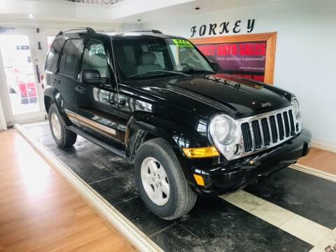 2005 Jeep Liberty for sale at Forkey Auto & Trailer Sales in La Fargeville NY